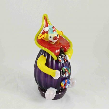 Skleněný klaun č.2