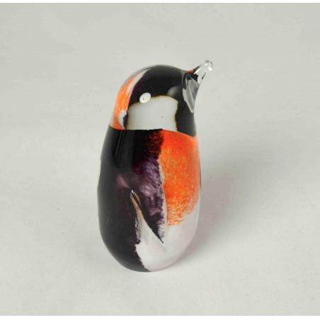 Skleněný tučňák mini