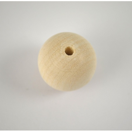 Korálek dřevěný 22 mm - 1 ks