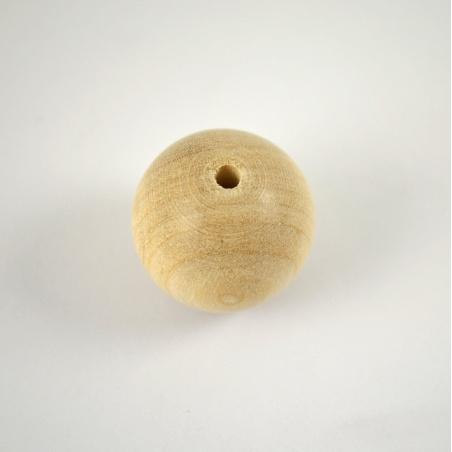 Korálek dřevěný 25 mm - 1 ks