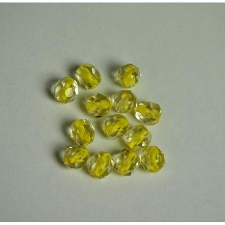 Ohňovky neon žlutá - 6 mm, 20 ks