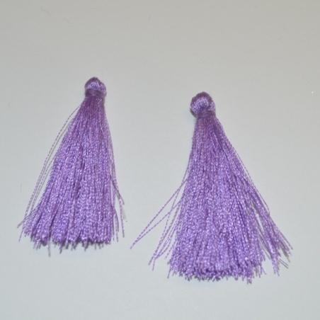 Střapec 40 mm - fialová