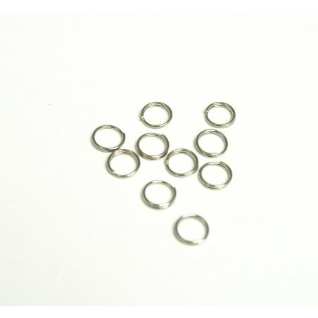 Spojovací kroužek z nerez oceli - 10 ks
