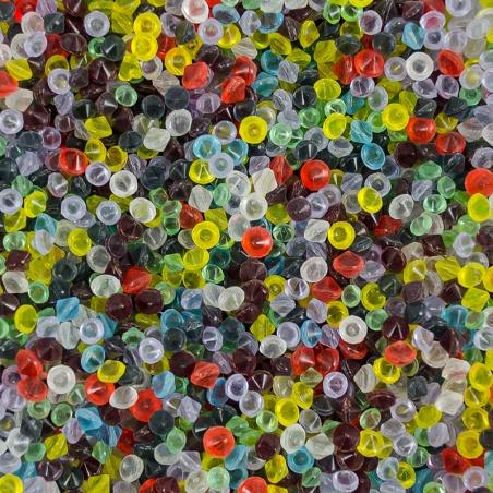 Dvojšpičky barevné 3-6 mm