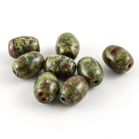 Sáček 5 g - olivy 9 mm, zelené
