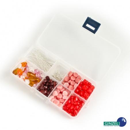 Set s komponenty 105 g - červeno růžový