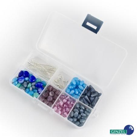 Set s komponenty 105 g - modro šedý