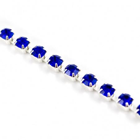 Štrasový pásek ss 12 - sapphire