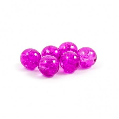 Praskačky 8 mm - růžové  - 6 ks