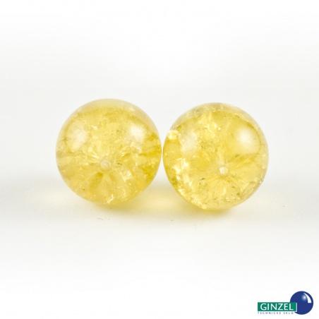 Praskačky 14 mm - medová - 2 ks
