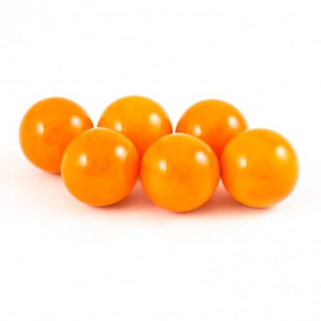 Cvrnkací kulička malá 16 mm - oranžová