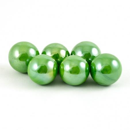 Cvrnkací kulička malá 16 mm - zelená