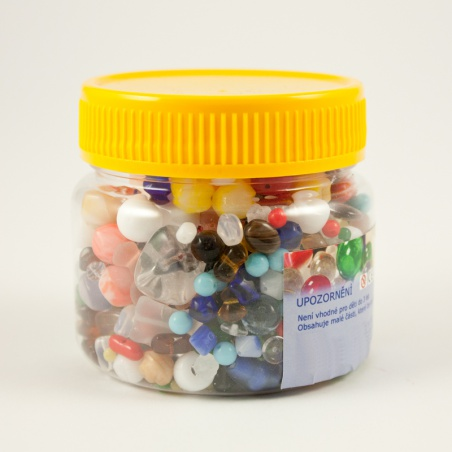 Korálky I.jak - 0,25 kg - barevný mix