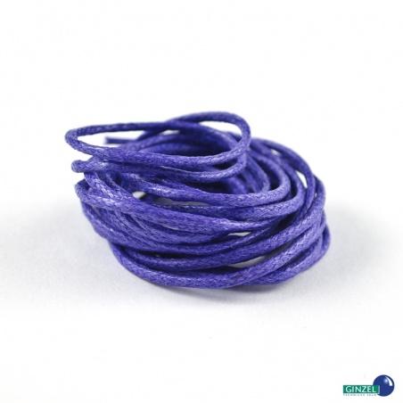 Vosková šňůra 2 m - fialová 1,5 mm