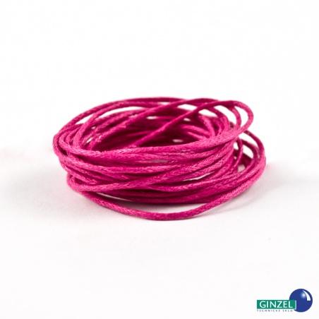 Vosková šňůra 2 m - růžová