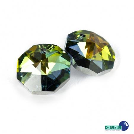 Krystal - hlavička, sahara, 14 mm
