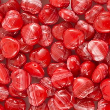 Korálky I.jak / 0,5 kg - červené jahody