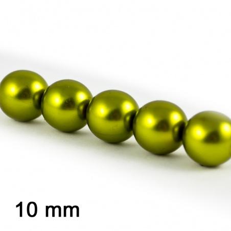 Voskové perle 10 mm - hrášková 5 ks