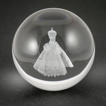 Koule 80 mm s 3D motivem - jezulátko