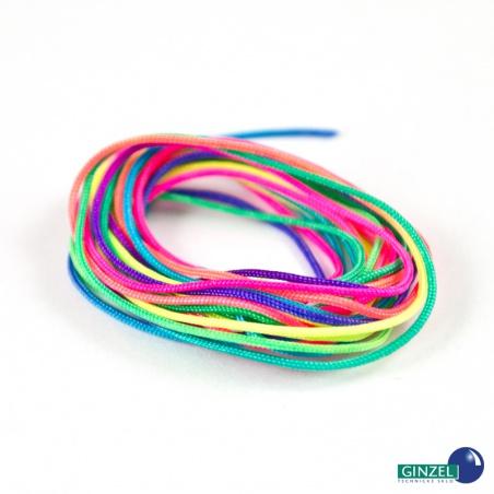 Nylon. šňůrka - pestrobarevná, 2 m