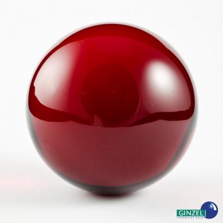 Dekorační koule 100 mm - červená