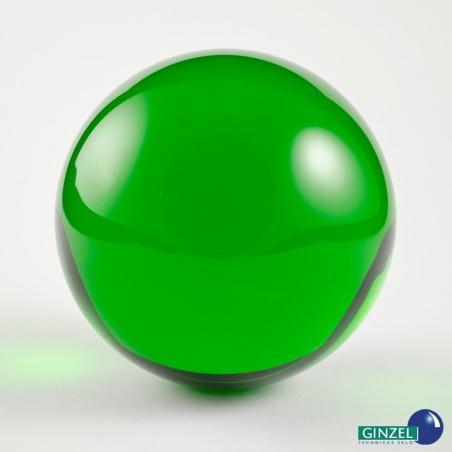 Dekorační koule 100 mm - zelená