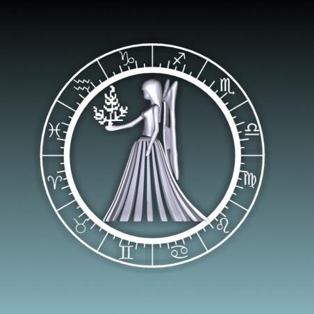 Koule 80 mm s 3D motivem - panna
