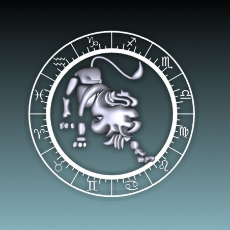 Koule 100 mm s 3D motivem - lev