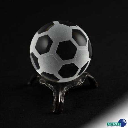 Skleněný fotbalový míček 40 mm