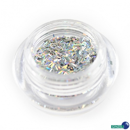 Polyester Glitter 2517/ 50A-3 hologram silver