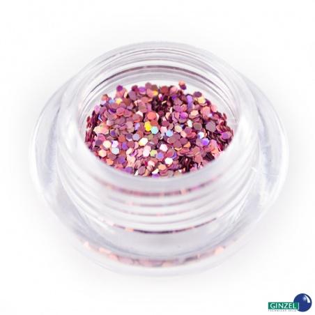 Polyester Glitter 2504/ 36A-3hex laser rose