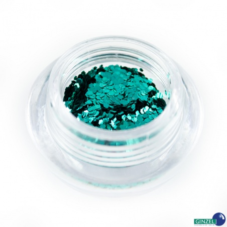 Polyester Glitter 2504/ 55-1hex ocean spray