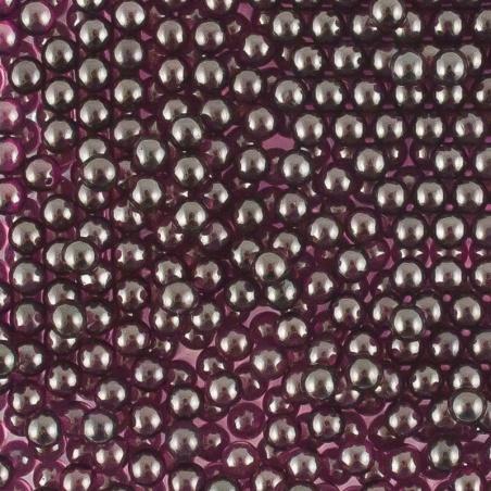 Barevné kuličky - 4 mm fialová lesk