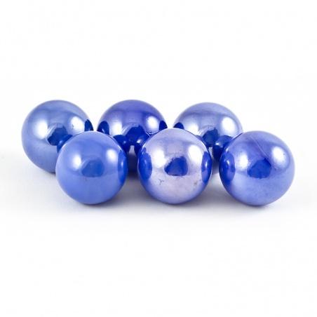Cvrnkací kulička malá 16 mm - modrá