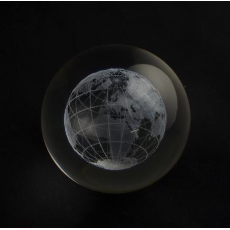 Koule 100 mm s 3D motivem  - globus