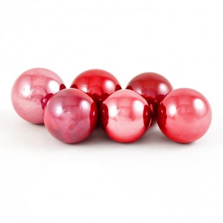 Cvrnkací kulička malá 16 mm - červená