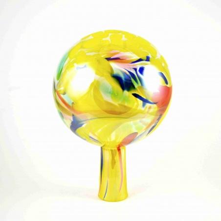 Plotová koule  -  žlutá duha č. 11