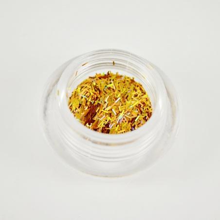 Polyester Glitter 2517/ 51A-3 hologram gold