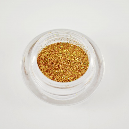 Polyester Glitter 2510/ 51A-3hex hologram gold