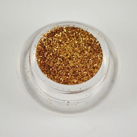 Polyester Glitter 2510/ 89-1hex brillant cinnamon