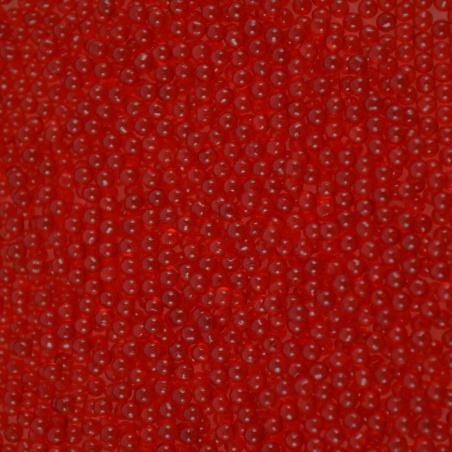 Barevné kuličky  - 2,3 mm červená