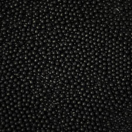 Barevné kuličky  - 1,6 černá mat