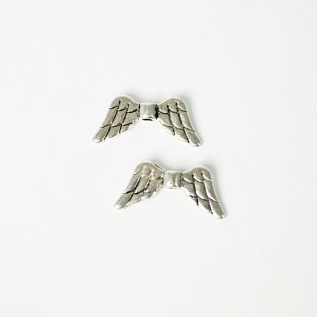 Andělská křídla - starostříbro - 2 ks