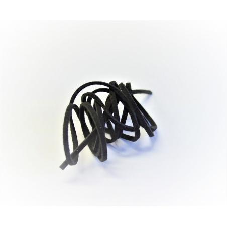 Syntetická kůže, 1 m - černá